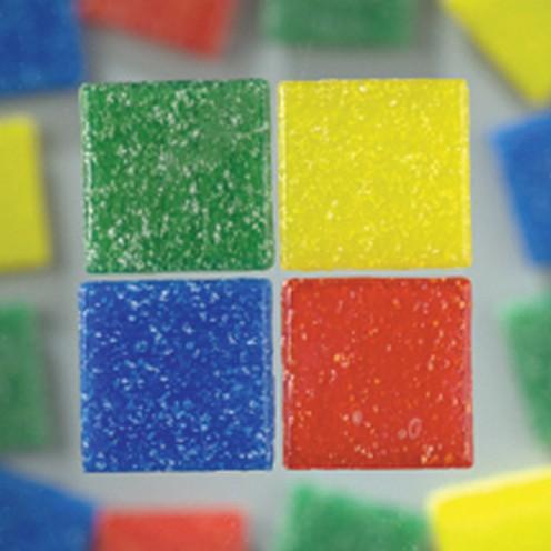 MosaixPro-Glassteine 20 x 20 x 4 mm 200 g ~ 63 Stk. farbig sortiert