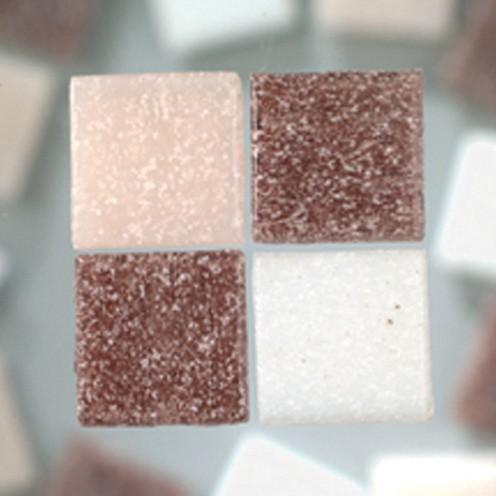 MosaixPro-Glassteine 20 x 20 x 4 mm 200 g ~ 63 Stk. lilamix
