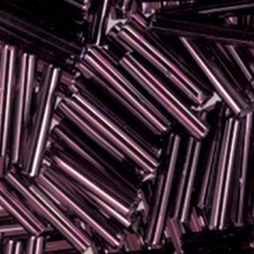 Stiftperlen Silbereinzug ø 2 x 11 mm 13 g lila