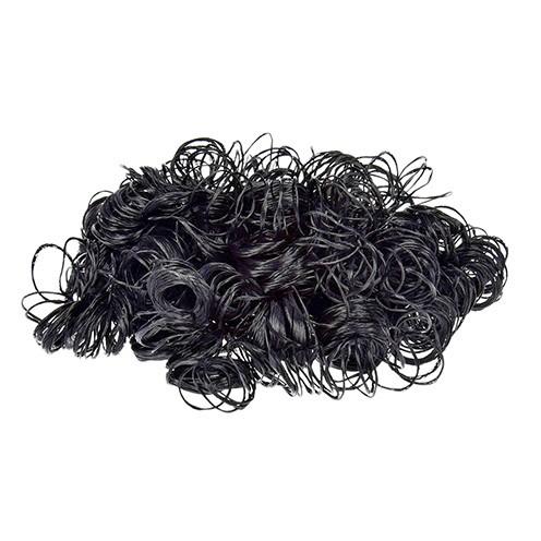 Puppenhaar 15 g schwarz
