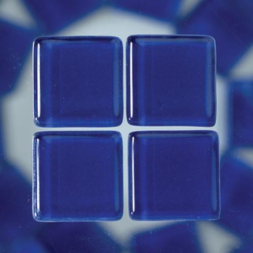 MosaixSoft-Glassteine 20 x 20 x 4 mm 1.000 g ~ 260 Stk. blau
