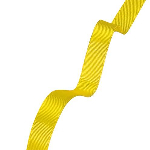 Dekoband Rips 15 mm gelb