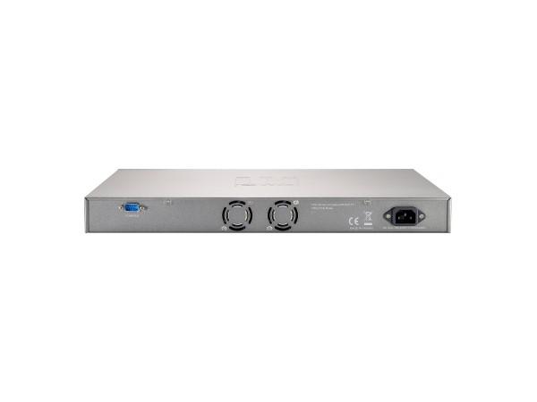 LevelOne 28-Port-L2-Managed-Gigabit-Ethernet-PoE-Switch - 802.3at PoE+ - 4 Ports SFP/RJ45 Combo - 4