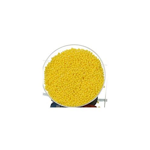 Indianerperlen opal ø 2,6 mm 500 g gelb