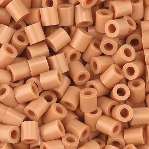 Nabbi® - Bügelperlen ~Ø 5 x H 5 mm 1.100 Stk. hellbraun Nr.32260