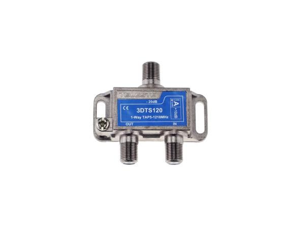 3DTS120 1-fach Abzweiger 20dB, 5-1218 MHz