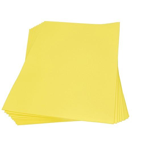 Moosgummiplatte 300 x 450 x 2 mm gelb