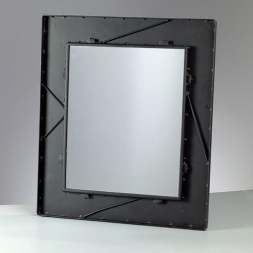 Mosaix Spiegelrahmen rechteckig 45 x 52 cm schwarz