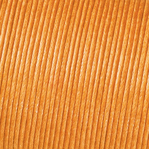 Baumwollkordel gewachst ø 2,0 mm dunkelgelb