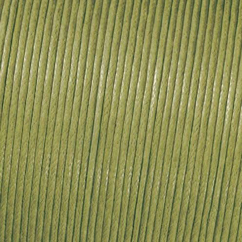 Baumwollkordel gewachst ø 2 mm / 6 m grün