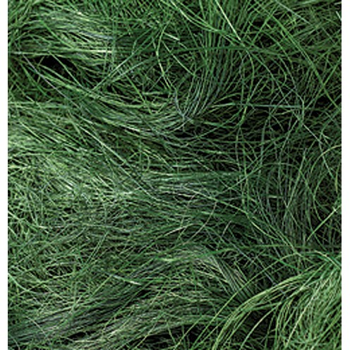 Sisalwolle 50 g dunkelgrün