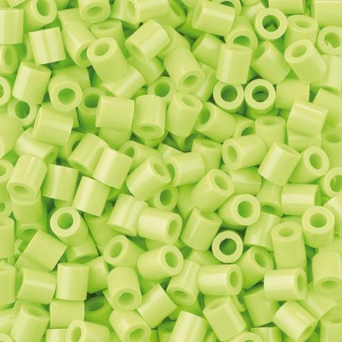Nabbi® - Bügelperlen ~Ø 5 x H 5 mm 1.100 Stk. gelbgrün Nr.32241