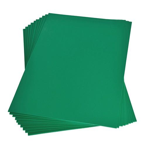 Moosgummiplatte 200 x 300 x 2 mm hellgrün