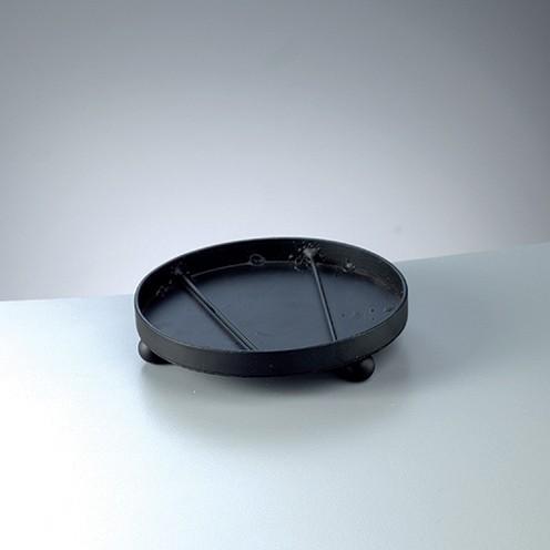 Mosaix Untersetzer rund ø 16 x 3,3 cm schwarz