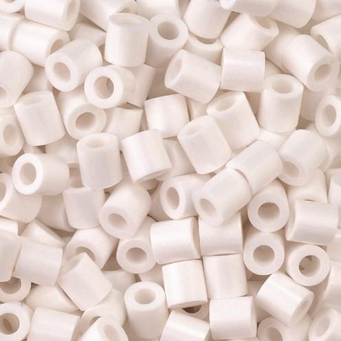 Nabbi® - Bügelperlen ~Ø 5 x H 5 mm 1.100 Stk. weiß Nr.32221