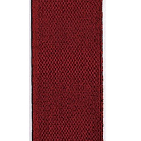 Dekoband Standard waschbar 30° 8 mm weinrot