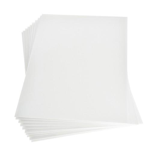 Moosgummiplatte 200 x 300 x 2 mm weiß