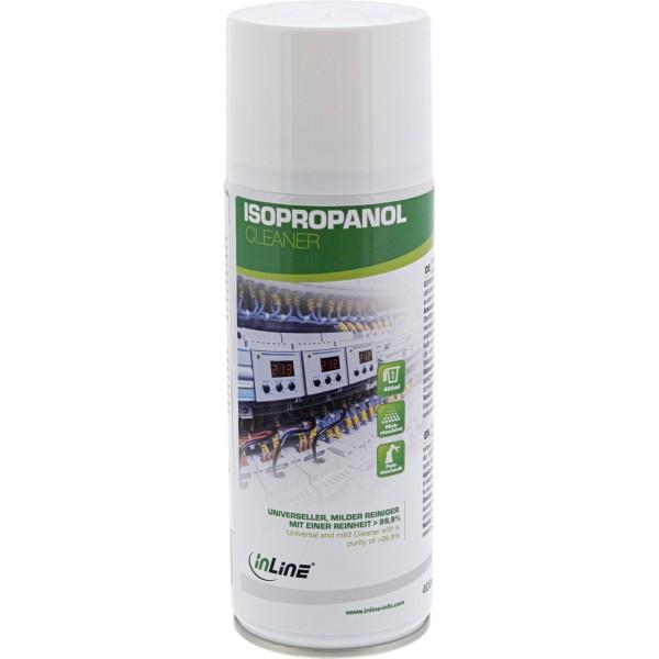 InLine Isopropanol - universeller - milder Reiniger mit einer Reinheit > 99,9% - 400ml