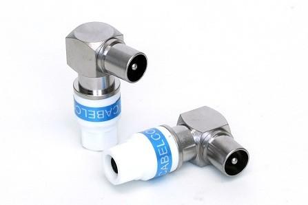 Cabelcon 90-IECM-56 5.1 SELF INSTALL Klasse A - 90° IEC Stecker Winkelstecke