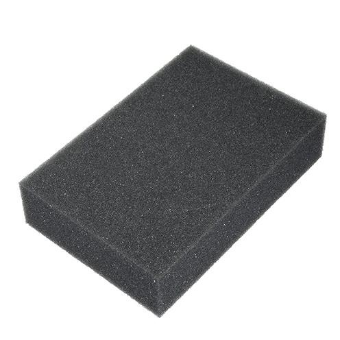 Unterlage zum Filzen Schaumstoff 21 x 14,8 x 5 cm / A 5 dunkelgrau