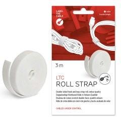 Label-the-cable LTC 1220 - Kabel-Flexrohr - Tisch/Wand - Weiß