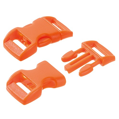 Klickschnalle 16 / 20 mm orange