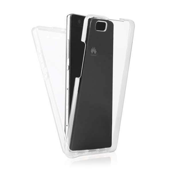 BACK CASE 360 HUAWEI P8 LITE transparent