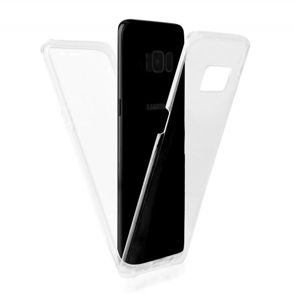 BACK CASE 360 SAMS.G955 S8 PLUS transparent