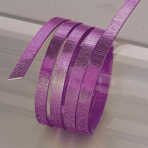 Aludraht eloxiert Struktur flach 1 x 5 mm 2 m violett
