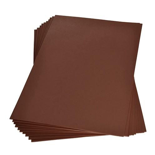 Moosgummiplatte 200 x 300 x 2 mm hellbraun