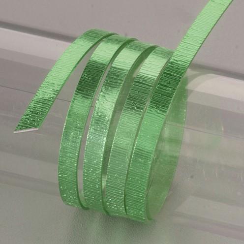 Aludraht eloxiert Struktur flach 1 x 5 mm 2 m grasgrün