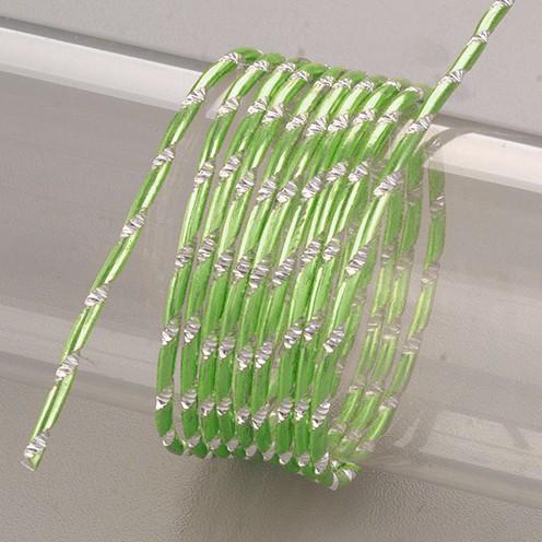 Aludraht eloxiert Diamant ø 2 mm 2 m hellgrün