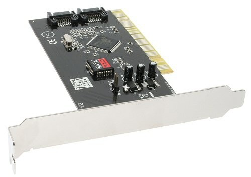 InLine Schnittstellenkarte, SATA RAID Controller 2-Kanal, PCI