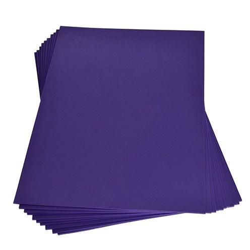Moosgummiplatte 200 x 300 x 2 mm lila