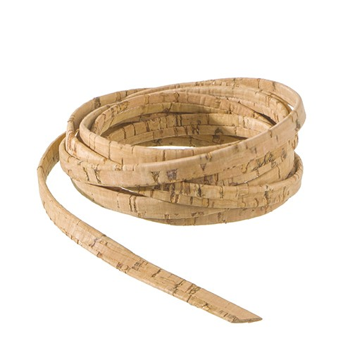 Korkband flach 10 m x 5 mm