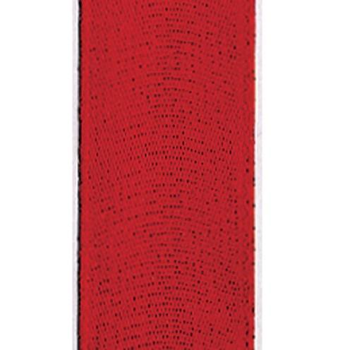 Dekoband Standard waschbar 30° 15 mm rot