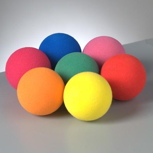 Moosgummibälle ø 25 mm farbig sortiert