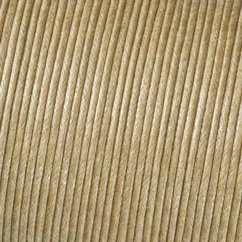 Baumwollkordel gewachst ø 2 mm / 6 m natur