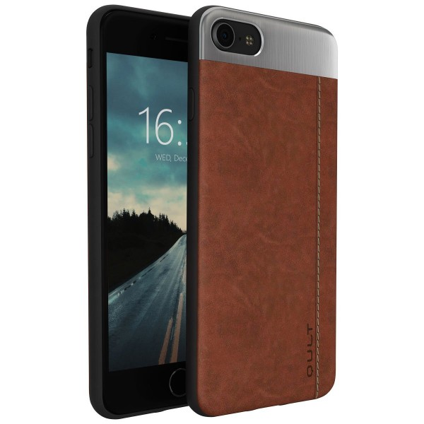 "BACK CASE QULT """"SLATE"""" iPhone 6/6s 4.7"""" brown"