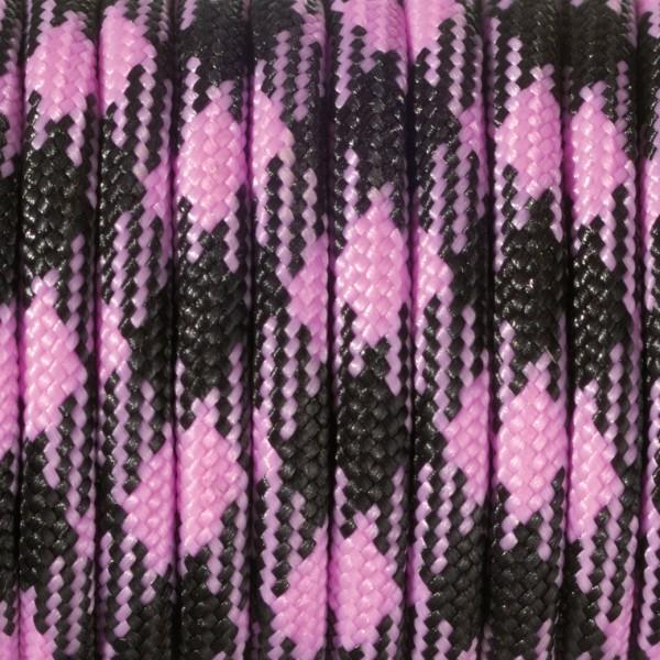 Paracord Farbmix 550 4 mm x 4 m 1 Stk. rosa pink schwarz