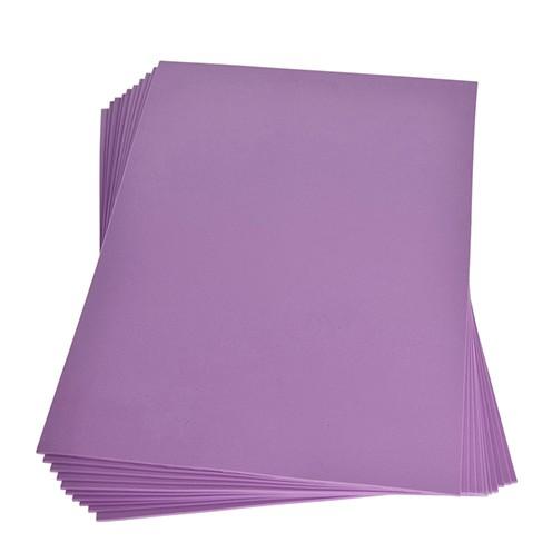 Moosgummiplatte 200 x 300 x 2 mm lavendel