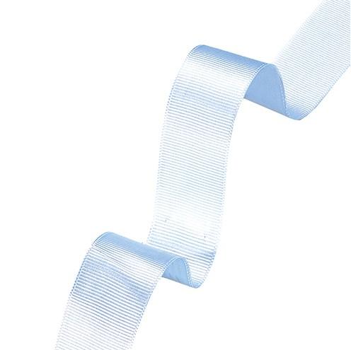 Dekoband Rips 25 mm hellblau