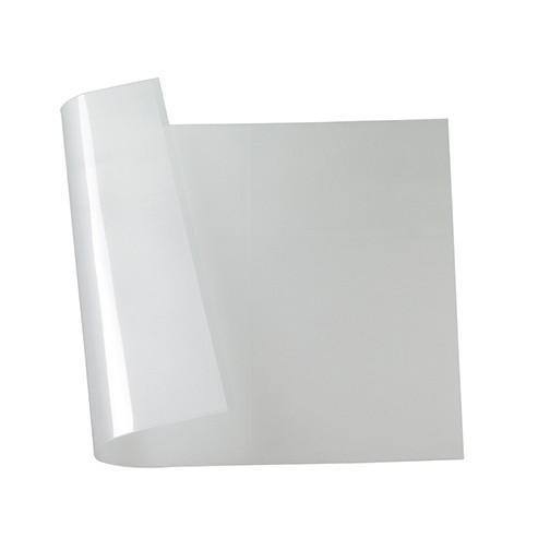Effektfolie Sternenglanz 50 x 35 cm / 0,33 mm milchig transparent