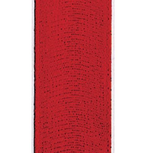Dekoband Standard waschbar 30° 8 mm rot