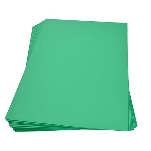 Moosgummiplatte 300 x 450 x 2 mm hellgrün