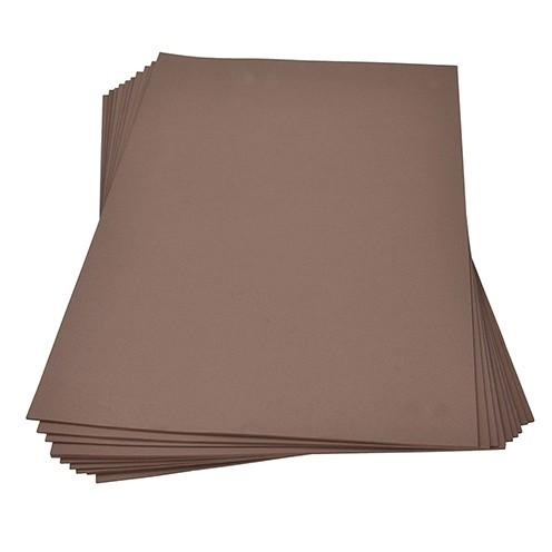 Moosgummiplatte 300 x 450 x 2 mm braun