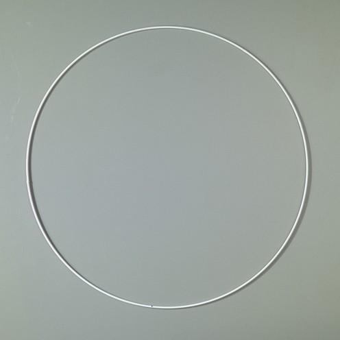 Drahtring ø 40 cm weiß