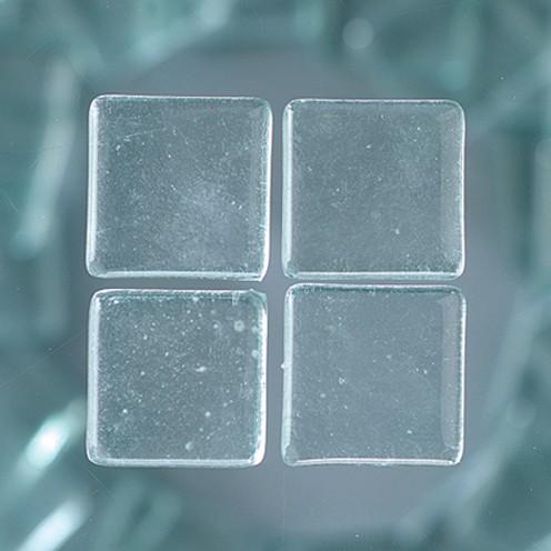 MosaixSoft-Glassteine 20 x 20 x 4 mm 200 g ~ 41 Stk. transparent
