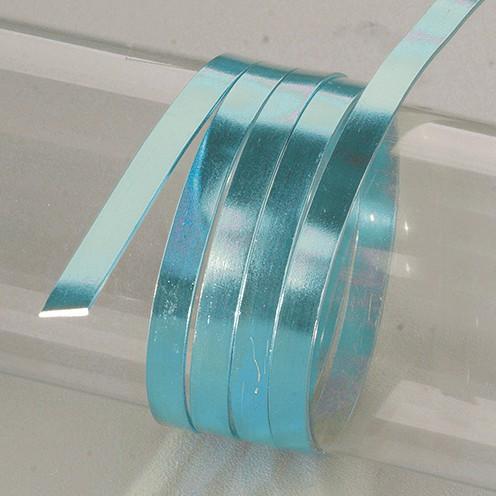 Aludraht eloxiert flach 1 x 5 mm 2 m türkis