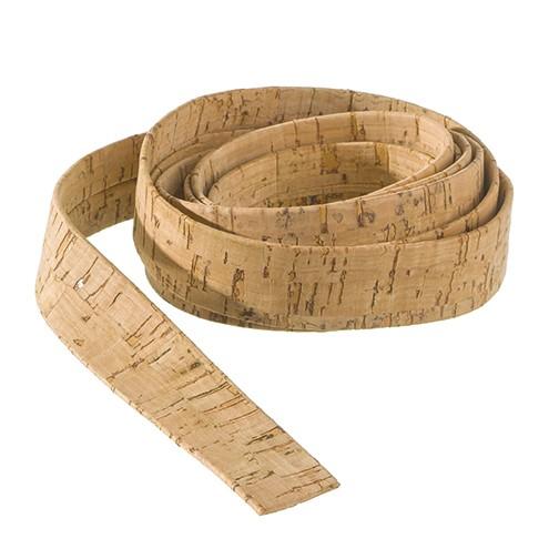 Korkband flach 100 cm x 20 mm